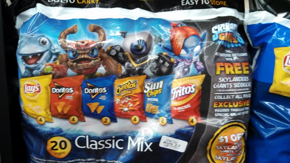 Frito Lay Skylanders Sidekicks