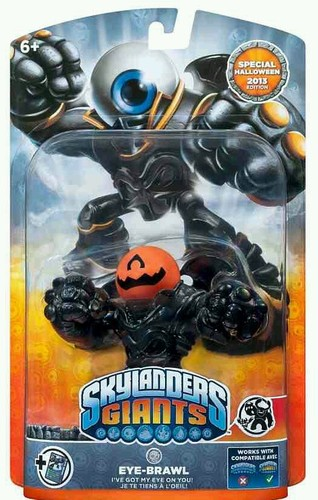 Pumpkin Eye-Brawl