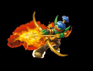 Flameslinger Artwork