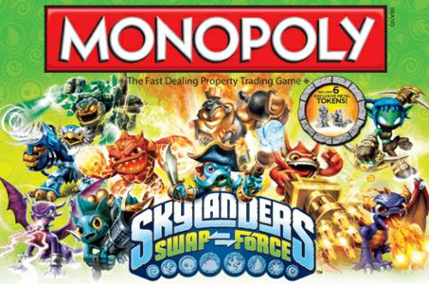 skylanders swap force monopoly