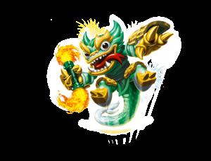 Jade Fire Kraken Artwork 2