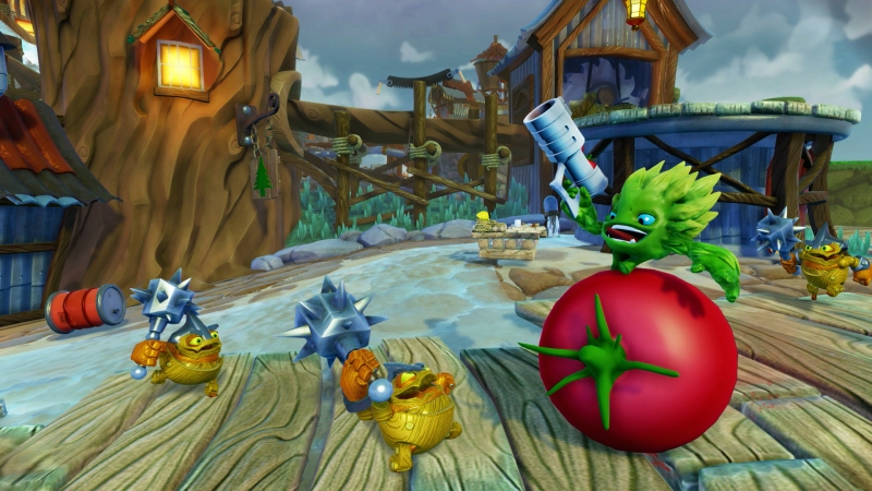 Skylanders Trap Team_Food Fight 2