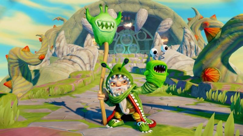 Der gefürchtete Chompy Magier ist zurück, grüner denn je!