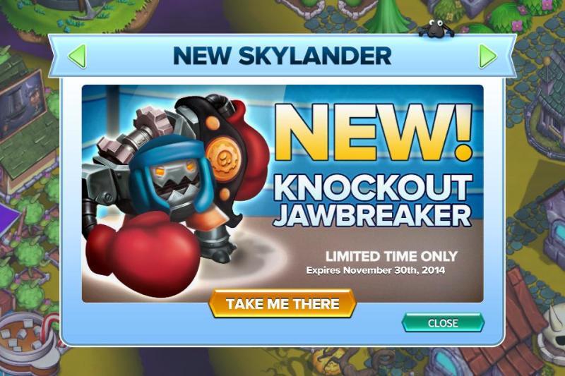 knockout jawbreaker