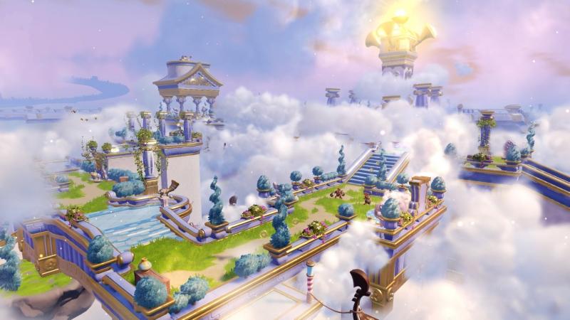 Dieses Level & die schicke Grafik gibt's nicht auf Wii und 3DS!