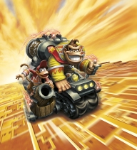Turbo Charge Donkey Kong Artwork