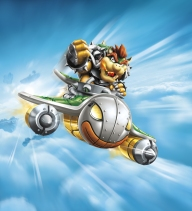 Hammer Slam Bowser Artwork